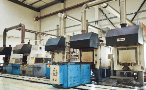 Controlled Atmosphere Carburizing Furnace